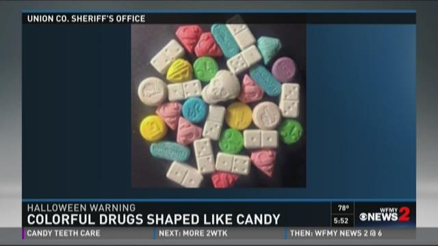 NC Sheriff Warns of Drugs That Look Like Candy