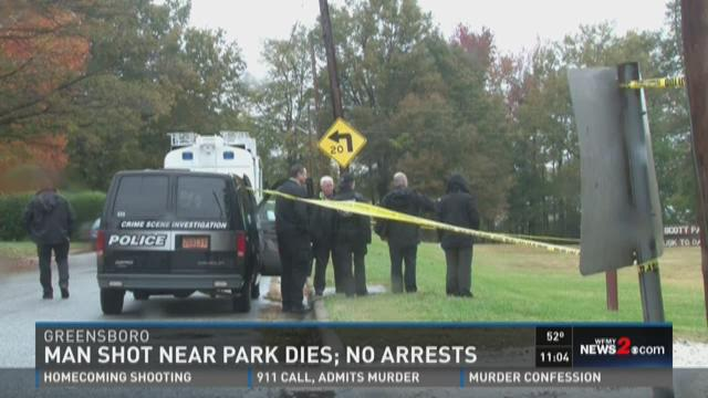 Shooting near Jonesboro Scott park in Greensboro
