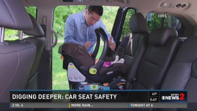 Investigation: Car Seat Crash Test Warning