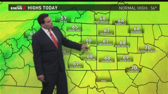 Tim Buckley's Friday Evening Forecast