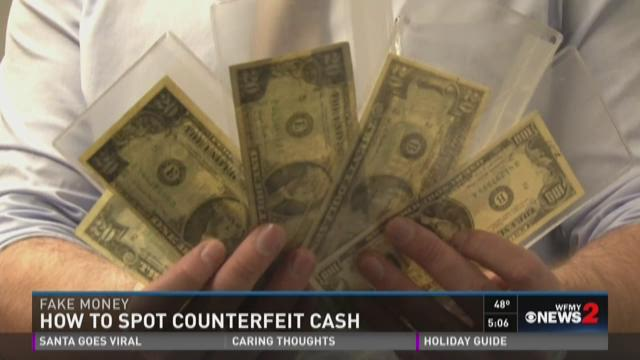 Spotting Counterfeit Money